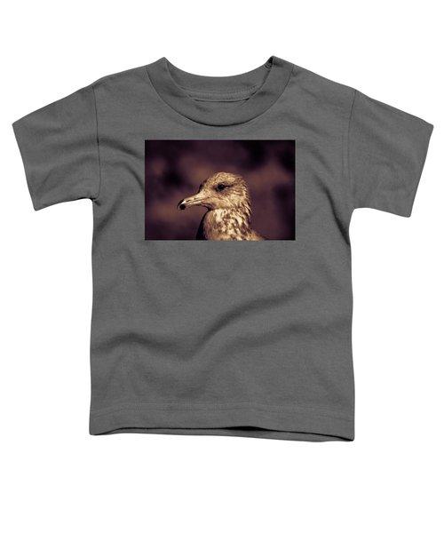 Portrait Of A Gull Toddler T-Shirt
