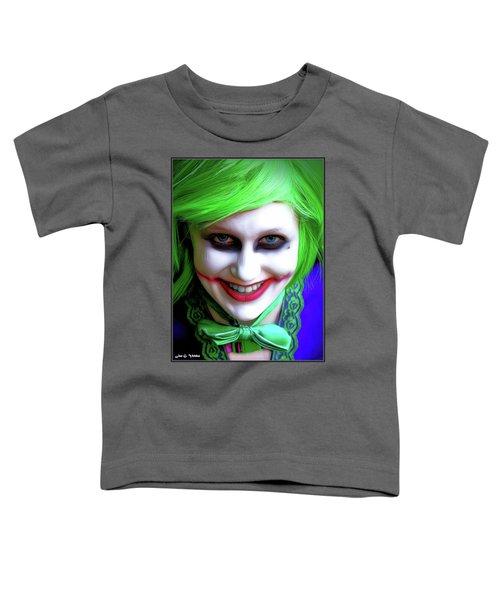 Portrait Of A Joker Toddler T-Shirt