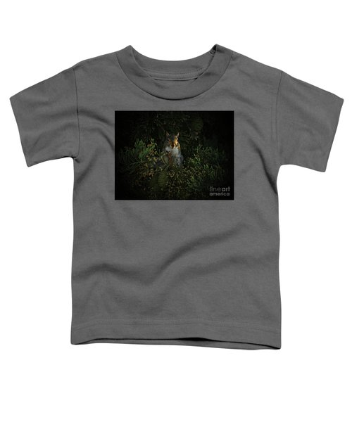Portrait Of A Squirrel Toddler T-Shirt