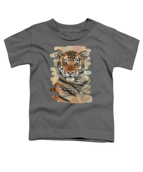 Portrait Of A Tiger Cub Toddler T-Shirt