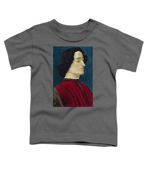 Portrait Of Giuliano De' Medici Toddler T-Shirt