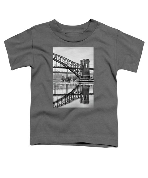 Portrait Of The Hellgate Toddler T-Shirt