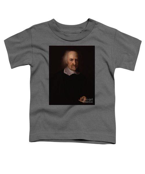 Portrait Of Thomas Hobbes Toddler T-Shirt