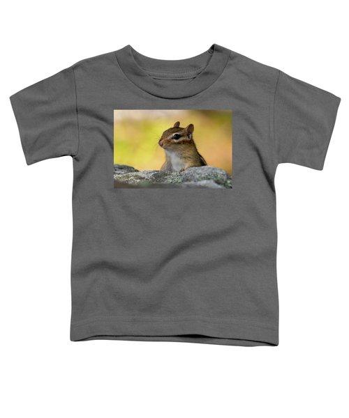 Posing Chipmunk Toddler T-Shirt