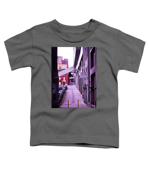 Post Alley, Seattle Toddler T-Shirt