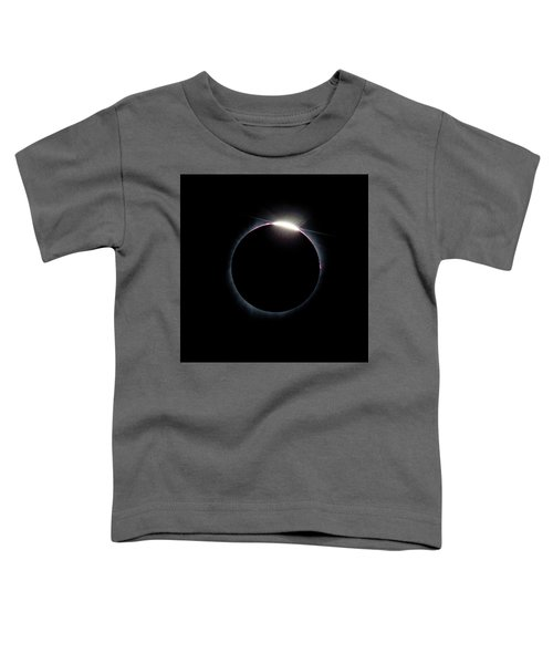 Post Diamond Ring Effect Toddler T-Shirt