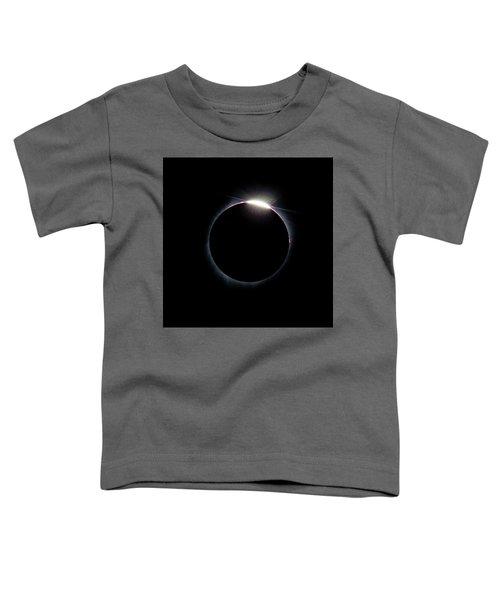 Post Diamond Ring Effect Toddler T-Shirt