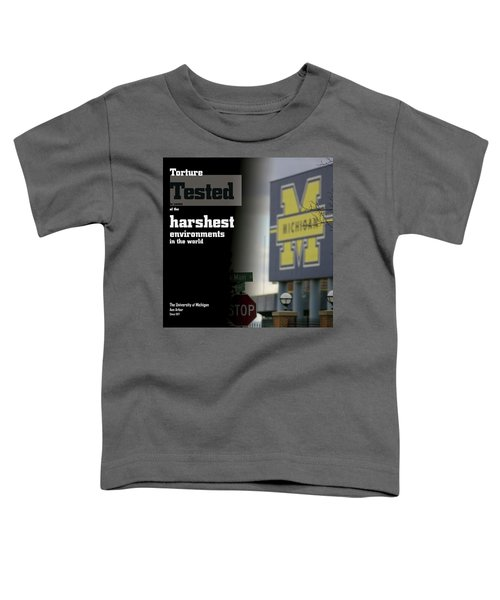Poster Of The Big House Toddler T-Shirt