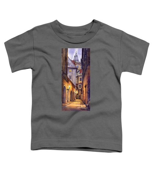 Prague Old Street  Toddler T-Shirt
