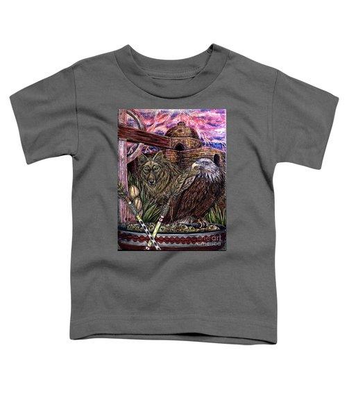 Praying Toddler T-Shirt