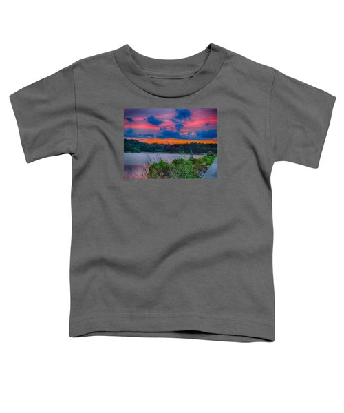 Toddler T-Shirt featuring the photograph Pre-sunset At Hbsp by Bill Barber