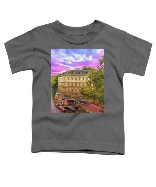 Pretty On The River - Prague Toddler T-Shirt