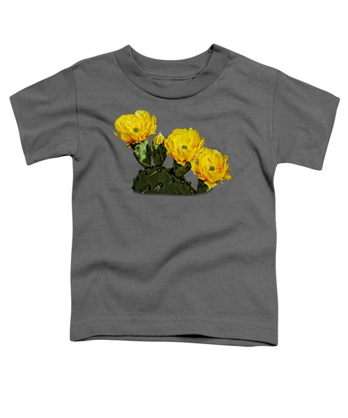 Prickly Pear Flowers Op42 Toddler T-Shirt