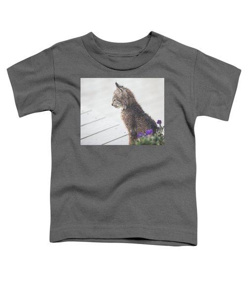 Profile In Kitten Toddler T-Shirt