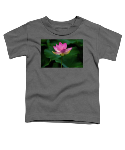 Profile Of A Lotus Lily Toddler T-Shirt