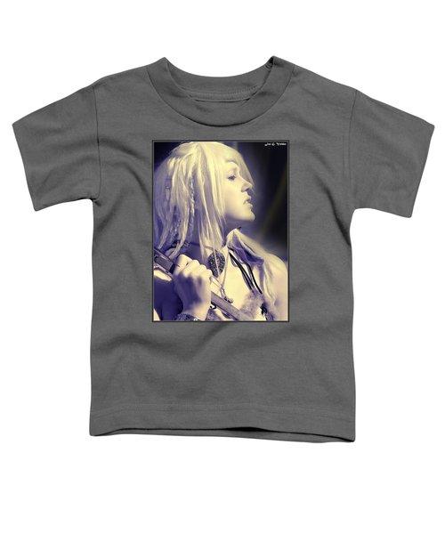Profile Of Amazon Warrior Toddler T-Shirt