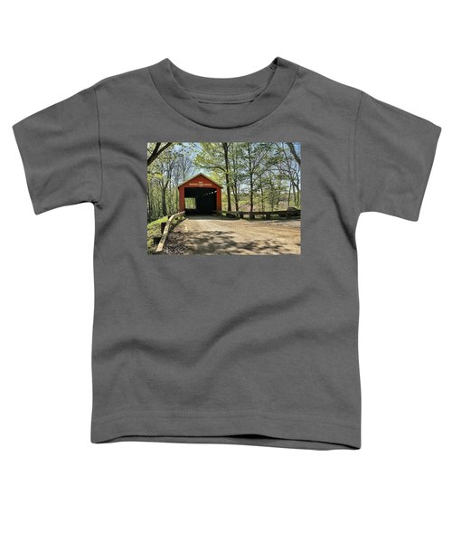 Toddler T-Shirt featuring the photograph Protected Crossing In Spring by Andrea Platt