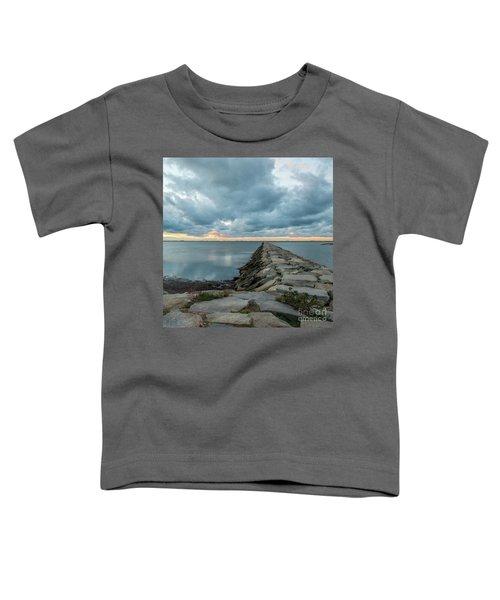 Provincetown Breakwater #3 Toddler T-Shirt