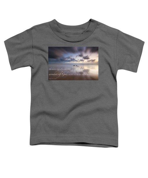 Psalm 19 1 Toddler T-Shirt