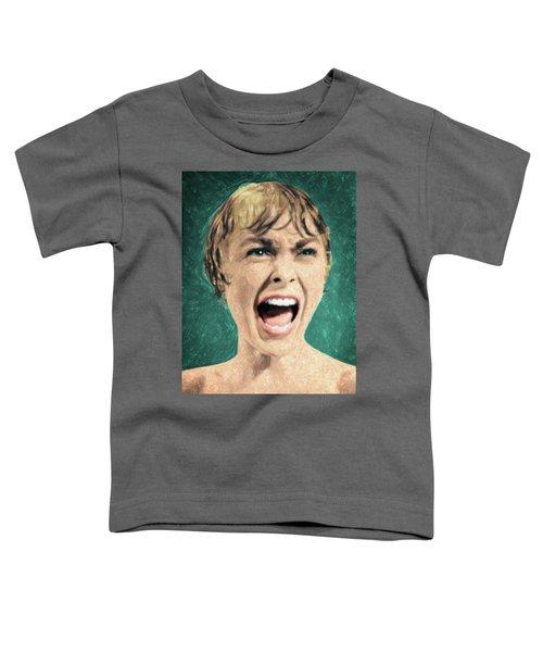 Psycho Shower Scene Toddler T-Shirt