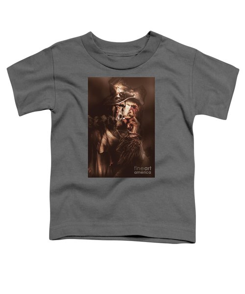 Puffing Billy The Smoking Scarecrow Toddler T-Shirt