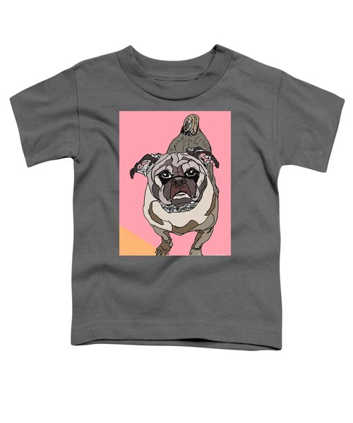 Pug In Digi Toddler T-Shirt