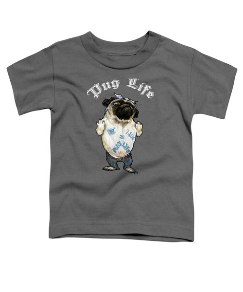 Pug Life Toddler T-Shirt