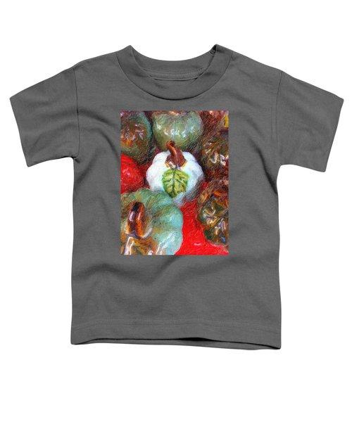 Pumpkins, Pumpkins...everywhere Toddler T-Shirt