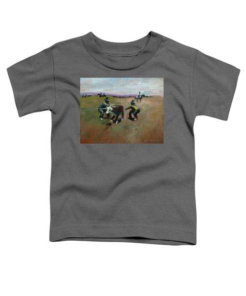 Punchin Doggies Toddler T-Shirt