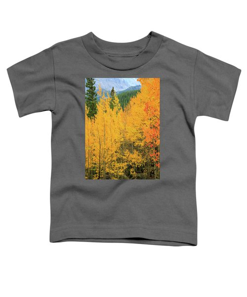 Toddler T-Shirt featuring the photograph Pure Gold by David Chandler