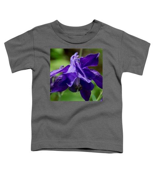 Purple Columbine Toddler T-Shirt
