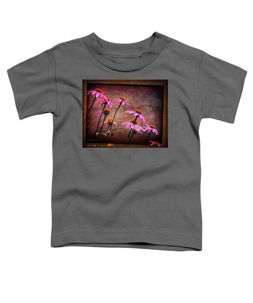 Purple Coneflowers Out Of Alignment  Toddler T-Shirt