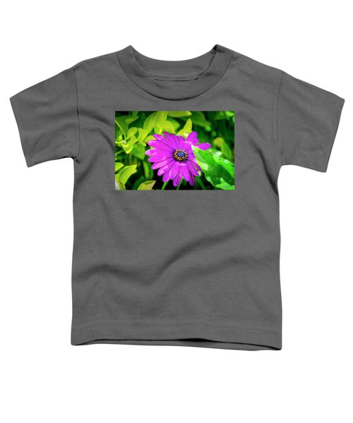 Purple Flower Toddler T-Shirt