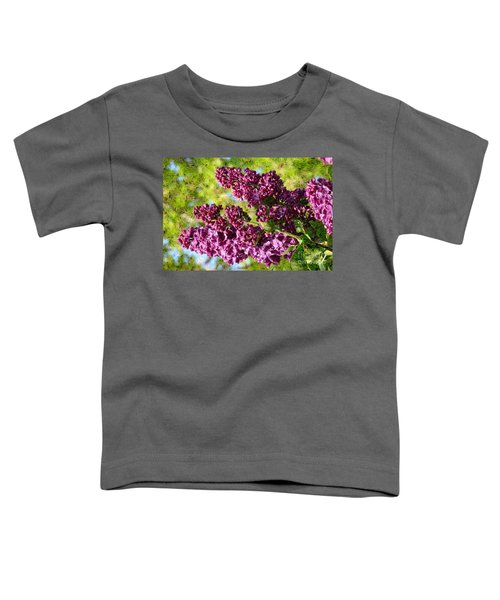 Purple Lilac 1 Toddler T-Shirt