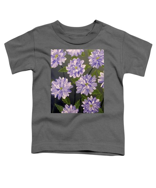 Purple Passion Toddler T-Shirt by Teresa Wing