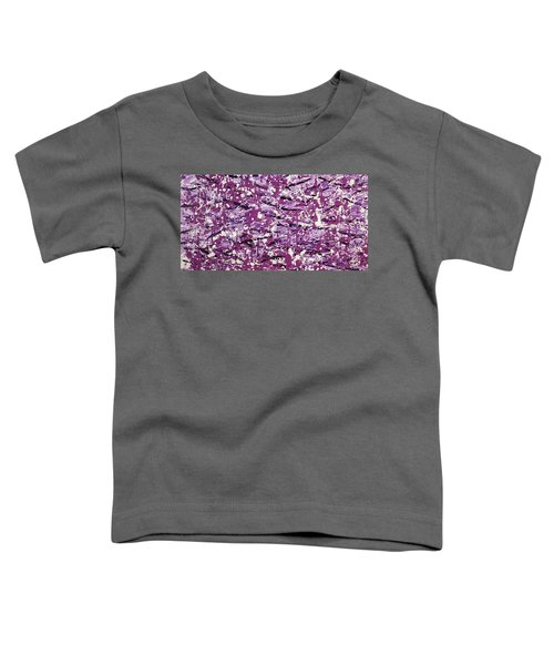 Purple Splatter Toddler T-Shirt