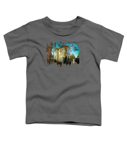 House With The Purple Swing Toddler T-Shirt