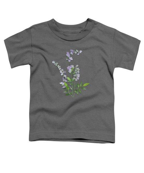 Purple Tiny Flowers Toddler T-Shirt