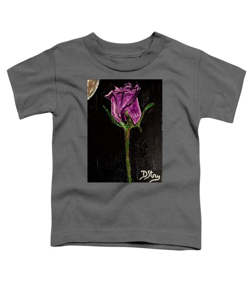 Purple Under The Moon's Glow Toddler T-Shirt