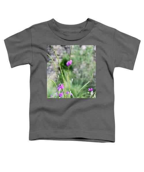 Purple Vebena Toddler T-Shirt