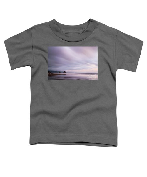 Purple Wisp In The Morning Toddler T-Shirt