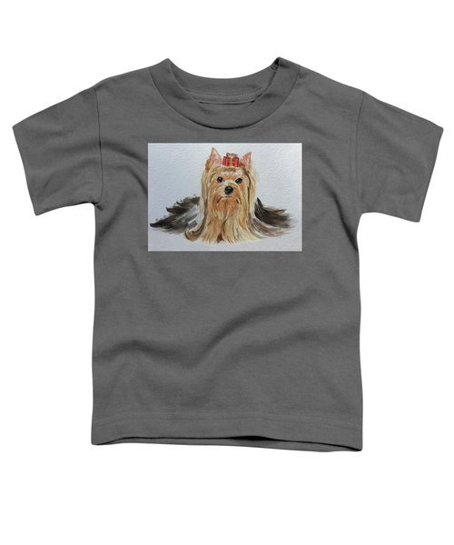 Put A Bow On It Toddler T-Shirt