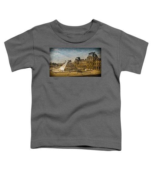 Paris, France - Pyramide Toddler T-Shirt