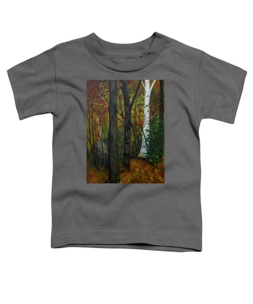 Quiet Autumn Woods Toddler T-Shirt