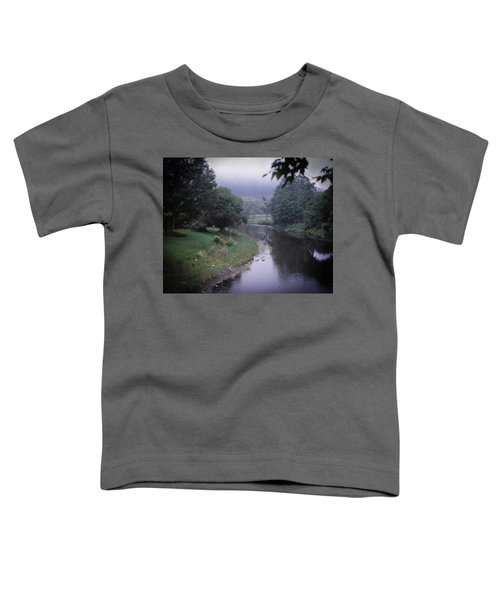 Quiet Stream- Woodstock, Vermont Toddler T-Shirt