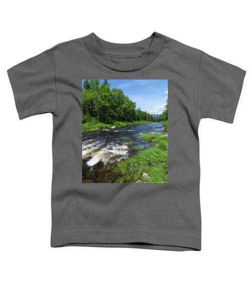 Quill Pond Brook Near Rangeley Maine  -70748 Toddler T-Shirt