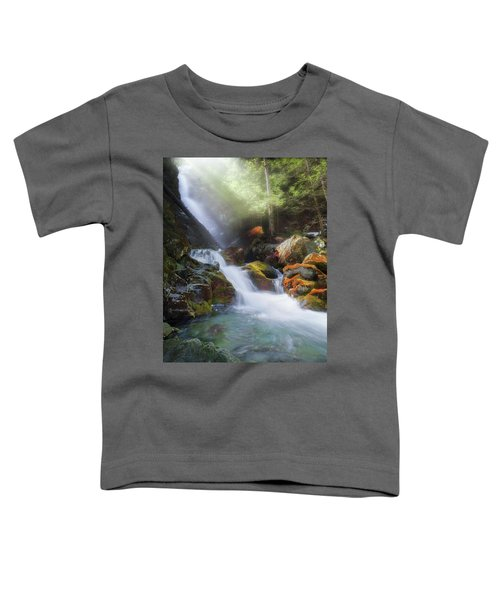 Toddler T-Shirt featuring the photograph Race Brook Falls 2017 by Bill Wakeley