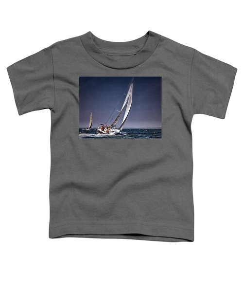 Racing To Nantucket Toddler T-Shirt