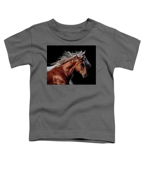 Racing With The Wind Toddler T-Shirt