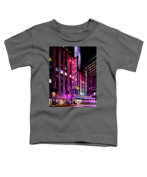 Radio City Music Hall Toddler T-Shirt